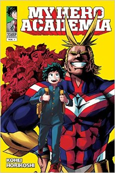 My Hero Academia, VOL 1 cover